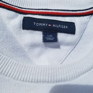 Tommy Hilfiger Sweaters - Used Tommy Hilfigher White Sweater